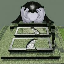 Проект памятника на заказ. Создание проекта памятника - за 3х рабочих дня. Цена проекта памятника - от периметра могилы.