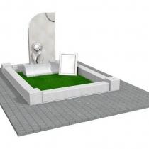 Фото 3д проекта памятника. Создание 3д проекта памятника.