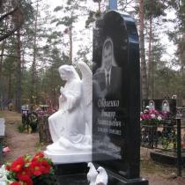 Изготовление индивидуального памятника. Цена ритуального комплекса под ключ 40 тыс.грн.