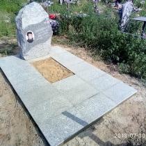 Фотография памятника. Заказать памятник по индивидуальному проекту, можно с сайта: https://www.grand-ritual.kiev.ua