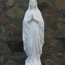 Эксклюзивная статуя из белого бетона. Высота 130 см., вес 130 кг., основа 30х30 см. Цена 12 тыс. грн. Всегда в наличии на складе.