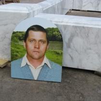 Цоколь из мрамора, цена, производство в Киеве