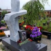 Памятник в форме креста. Цена памятника с крестом из камня - доступна.