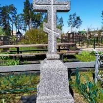 Памятник с крестом. Цена памятника с крестом - согласно проекта.