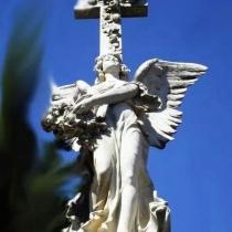 Фото креста из камня. Высота креста из камня - согласно проекта.