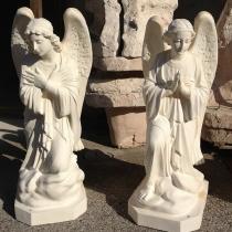 Скульптура Небесных Ангелов. Фото ангелов на складе в Киеве. Гарантия на скульптуру ангелов 10 лет.