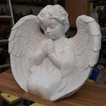 Ширина скульптуры ангела. Купить скульптуру ангела - можно с сайта: https://www.grand-ritual.kiev.ua