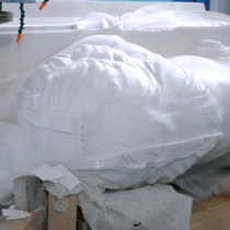 Фото скульптуры льва. Размеры фигуры льва: 2 м. Продажа льва из мрамора в Киеве; цена скульптуры из мрамора - доступная.