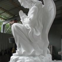 Скульптуры ангелов из декоративного бетона, фигура ангела. Киев