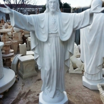 Цена статуи Иисуса Христа - 100 тыс. грн. Высота статуи Иисуса - 200 см. Основа статуи Иисусу: 51 х 51 см. Вес статуи Иисуса Христа - 500 кг.