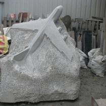 Производство ритуальной скульптуры из гранита в Киеве. Размер скульптуры - согласно проекта памятника.
