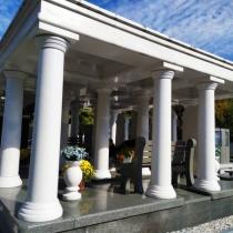 Элитный комплекс на могилу. Фото элитного комплекса на кладбище.