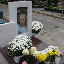 Новый детский памятник.  Высота детского памятника - 115 см. Установка памятника в Киеве.
